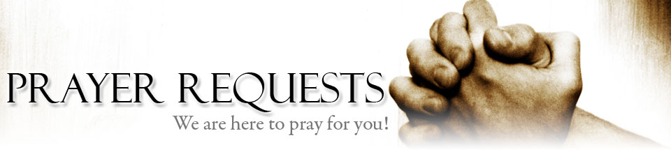 Prayer Request  Contact Us